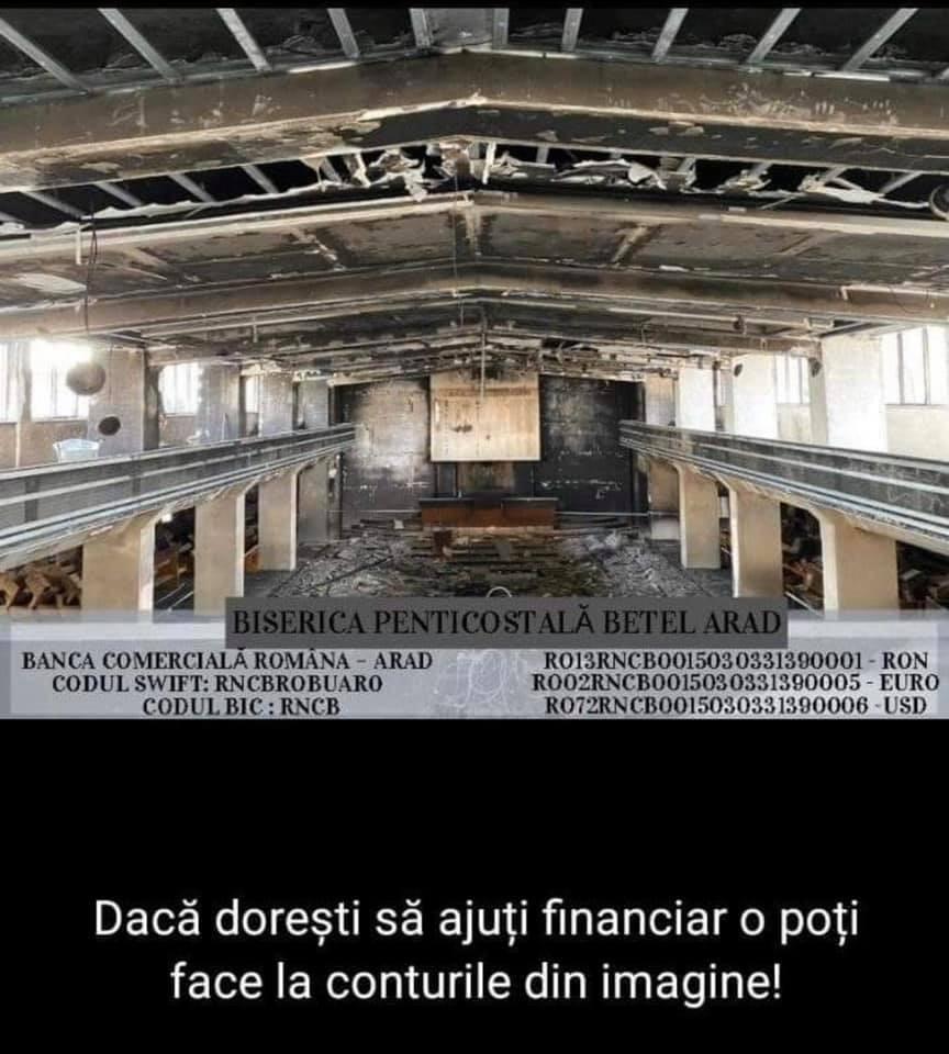 donatii biserica betel arad